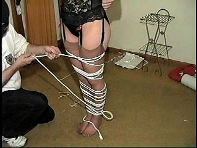 Lots of rope bondage